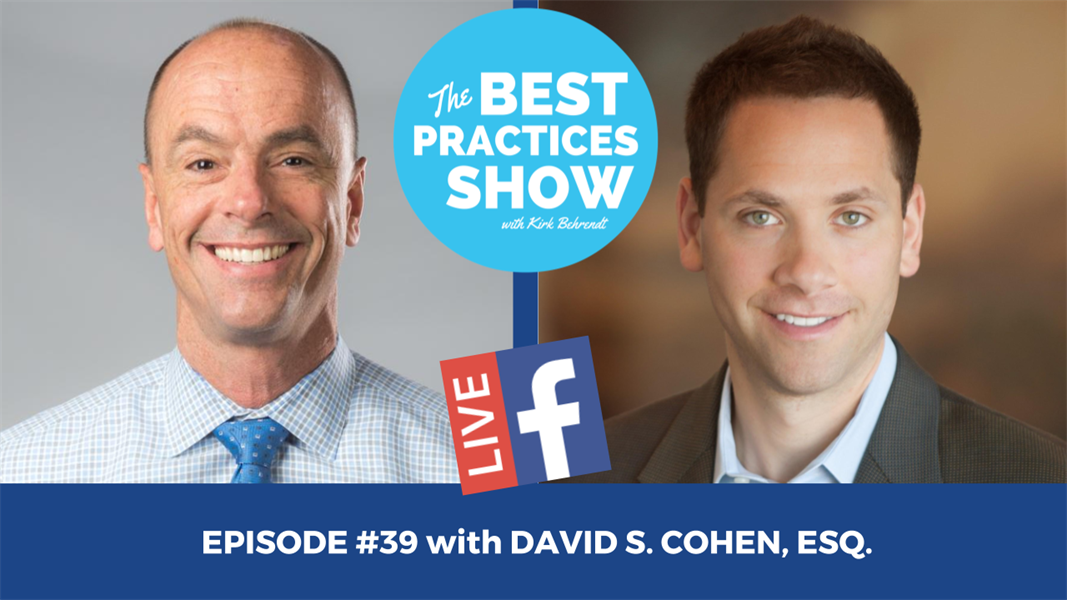Episode #39 - Simple Secrets to Successful Purchases, Sales, and Partnerships with David Cohen, Esq.