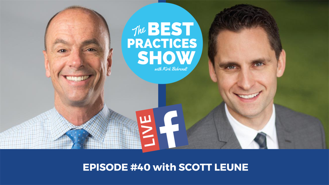 Episode #40 - Four Ways to Immediately Lower Overhead with Dr. Scott Leune