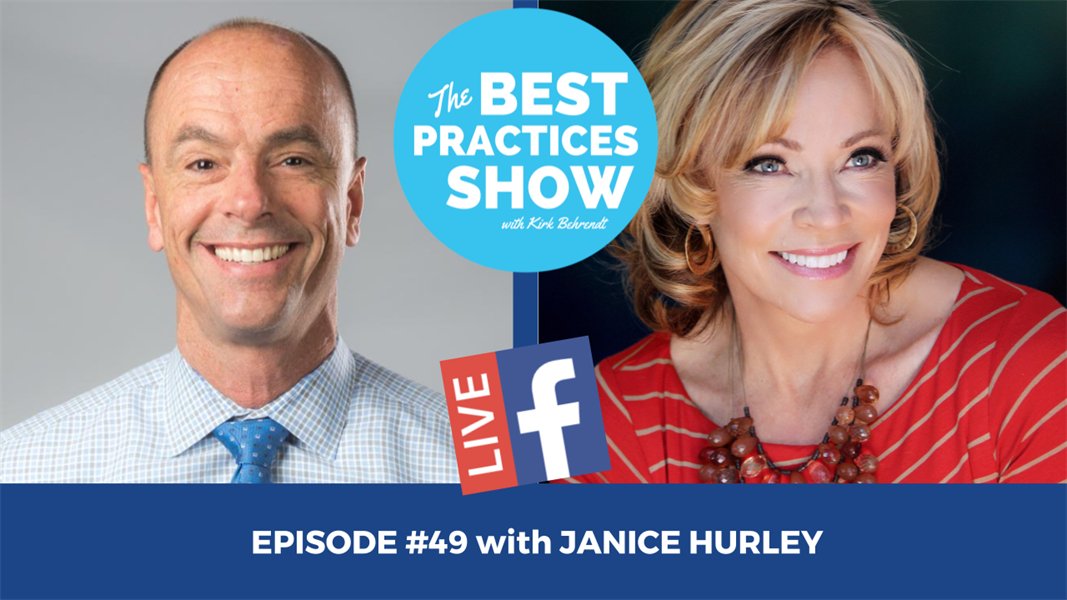 Episode #49 - The Keys to Using Video Effectively in Your Practice with Janice Hurley