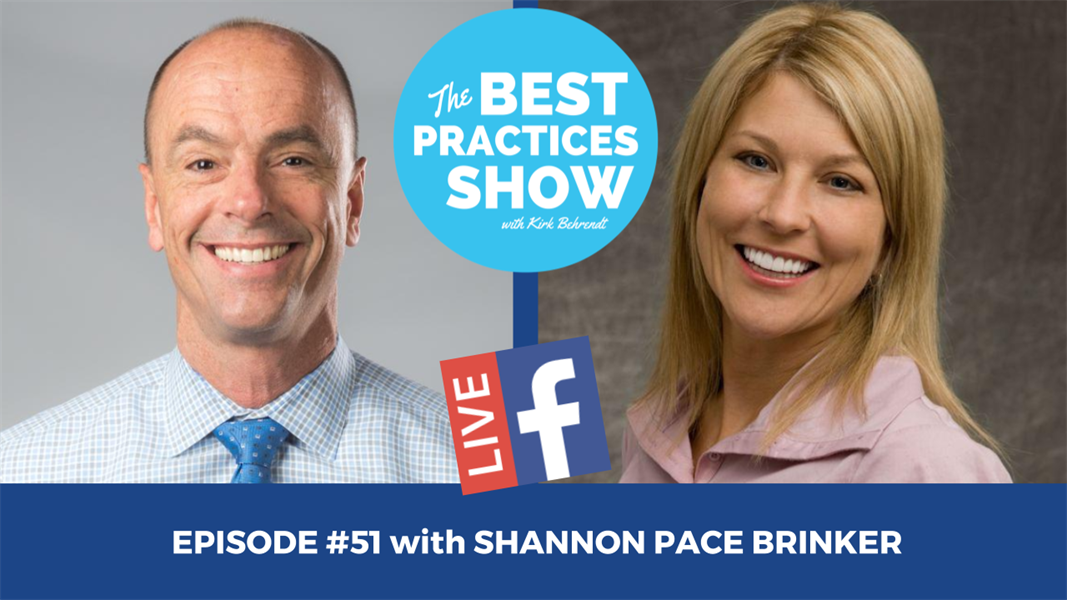 Episode #51 - Whitening to Restorative with Shannon Pace Brinker, CDA ACE