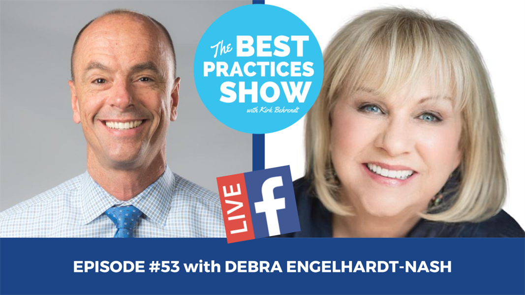 Episode #53 - The Most Important Ingredient in Patient Communication with Debra Engelhardt-Nash