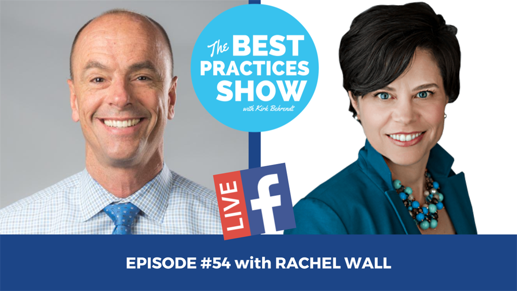 Episode # 54 - ROH: How to Get a Strong Return on Your Hygiene Investment with Rachel Wall