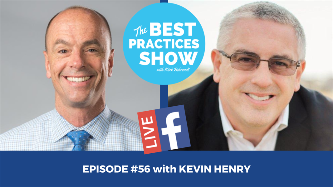 Episode #56 - Boosting the Assistant to Raise Your Bottom Line with Kevin Henry