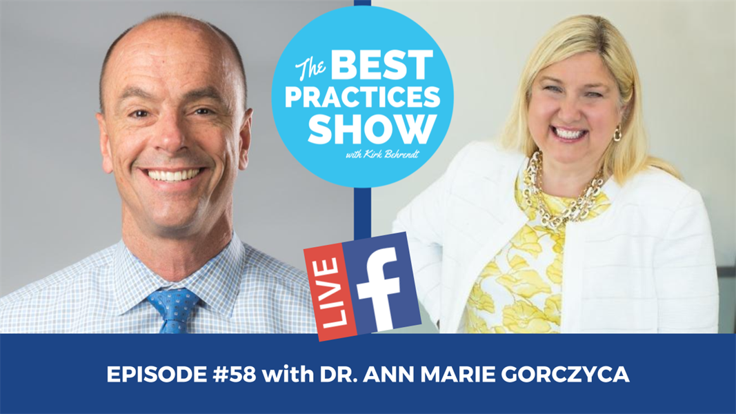 Episode #58 - It All Starts With Marketing with Dr. Ann Marie Gorczyca