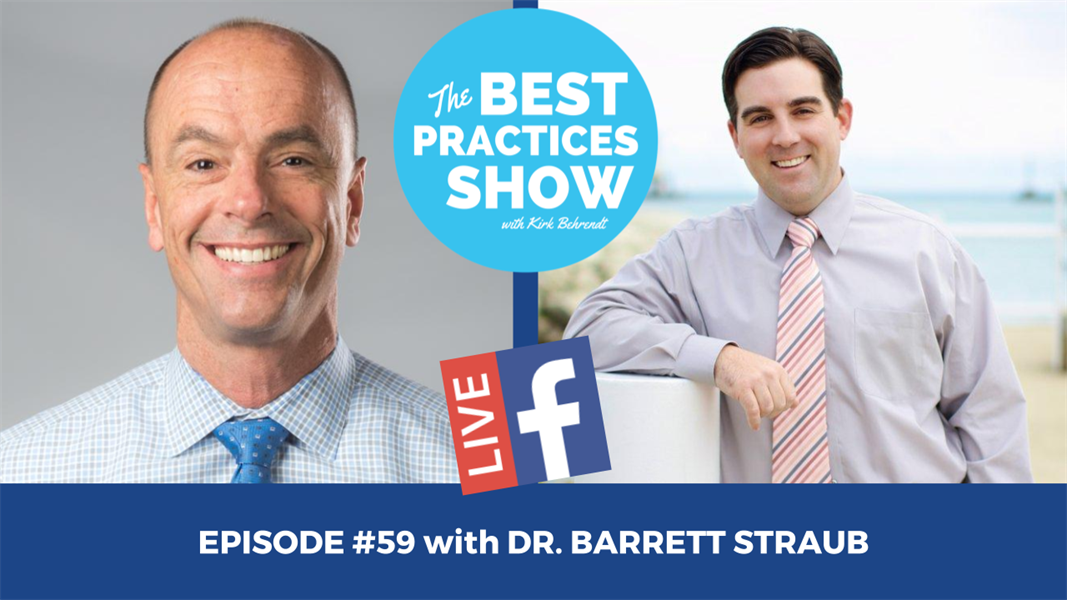 Episode #59 - One of the Most Important Ingredients in a High Performing Team with Dr. Barrett Straub