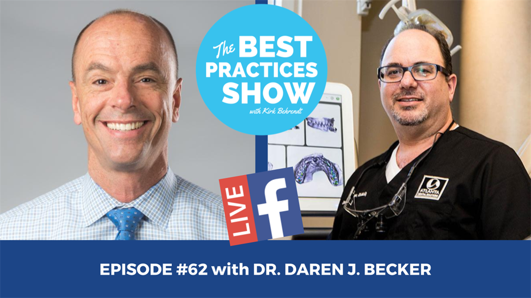 Episode #62 - Becoming the Restorative Specialist on Your Interdisciplinary Team with Dr. Daren Becker