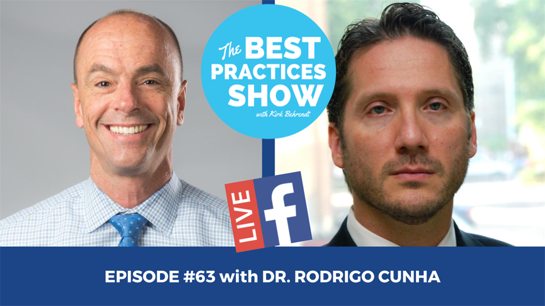 Episode #63 - The Keys to Enjoying Daily Endodontics with Dr. Rodrigo Cunha