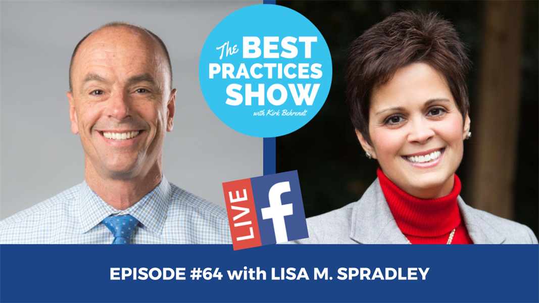 Episode #64 - One Thing You Need to Have a Healthier Practice with Lisa M. Spradley