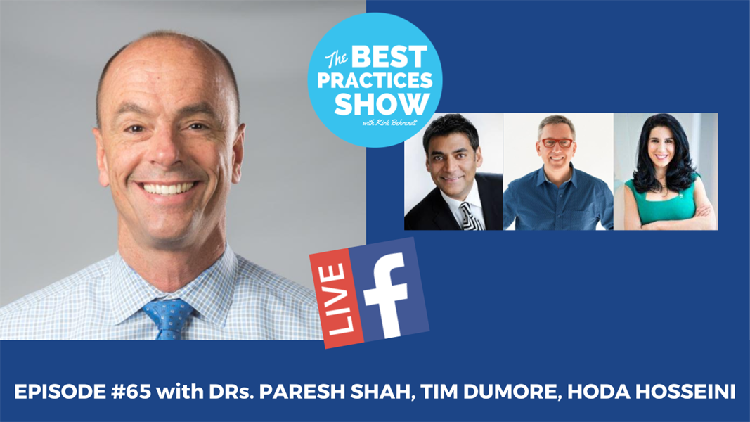 Episode #65 - Interdisciplinary Communication in a Contemporary Practice with Dr. Paresh Shah, Dr. Tim Dumore, and Dr. Hoda Hosseini