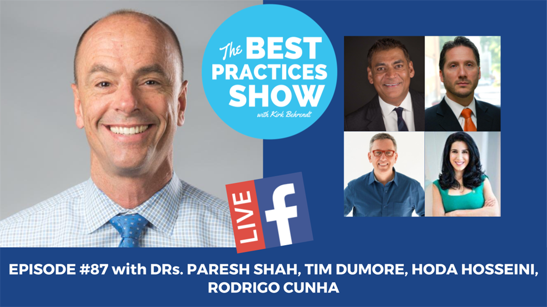 Episode #87 - Superdentists: Dead or Alive??? with Team Winnepeg Progressive Dental Club - Dr. Paresh Shah, Dr. Tim Dumore, Dr. Hoda Hosseini, Dr. Rodrigo Cuhna