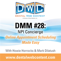 #28: NPI Concierge: Online Appointment Scheduling Made Easy