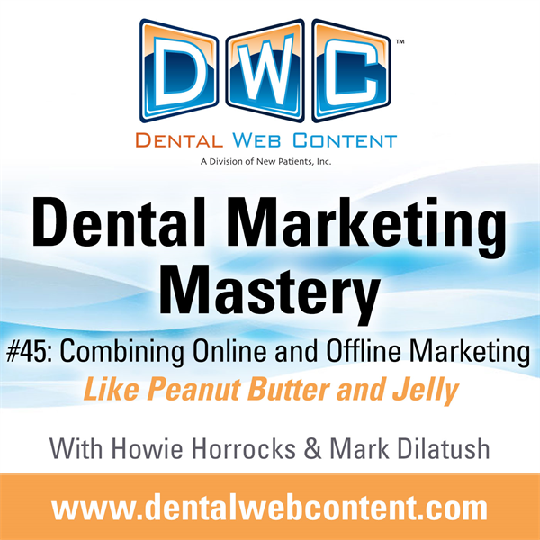 #45: Combining Online and Offline Marketing | Like Peanut Butter and Jelly