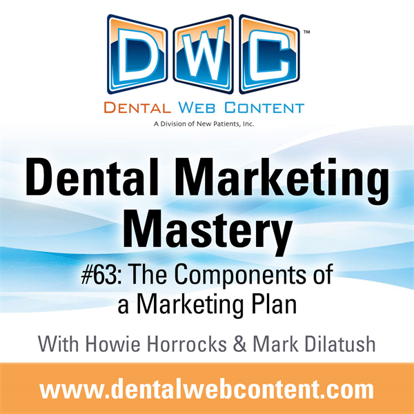 #63: The Components of a Marketing Plan