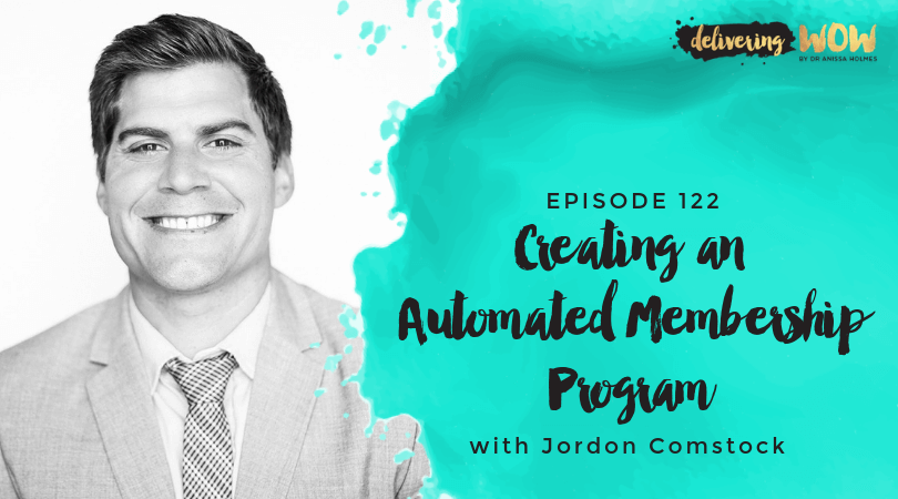 Creating An Automated Membership Program With Jordon Comstock