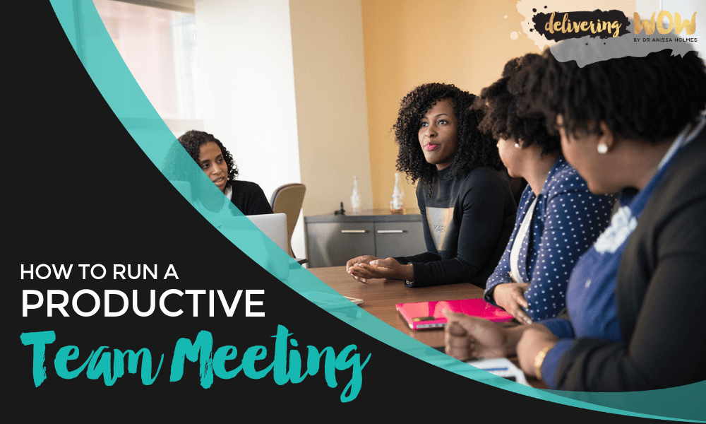 How to Run a Productive Team Meeting