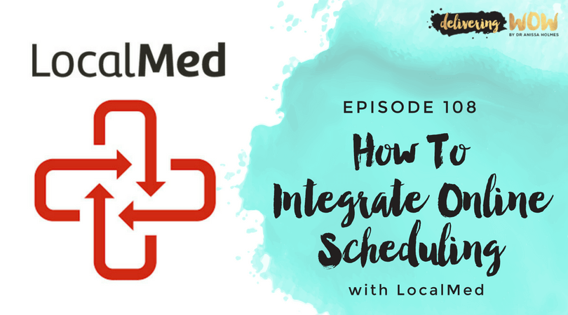 How To Integrate Online Scheduling With LocalMed