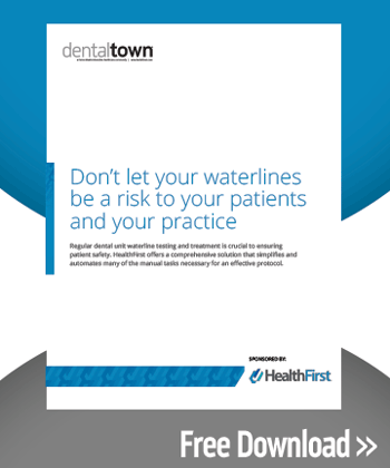 Don't Let Your Waterlines Be A Risk To Your Patients and Your Practice