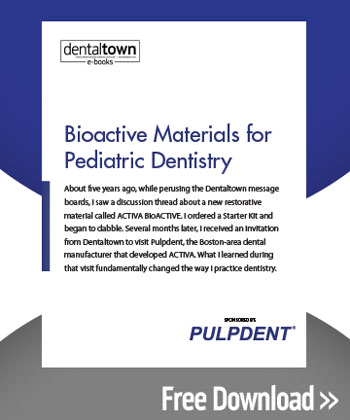 Bioactive Materials for Pediatric Dentistry