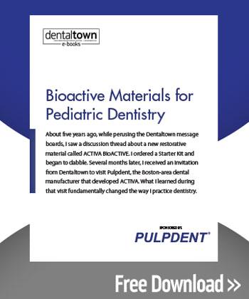 Bioactive Materials for Pediatric Dentistry