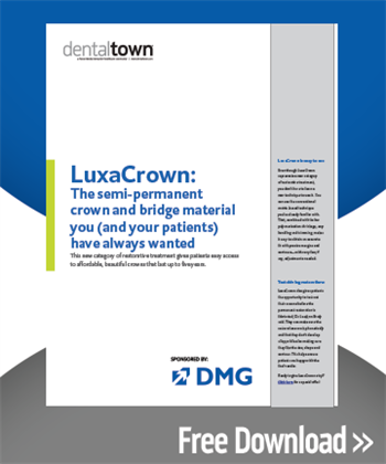 LuxaCrown: The semi-permanent crown and bridge material you (and your patients) have always wanted