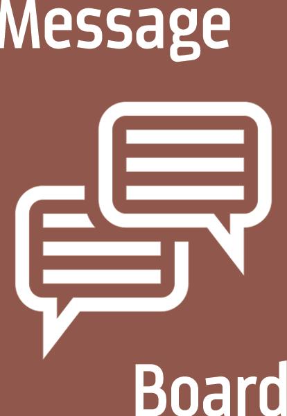 Message Board Header