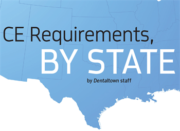 CE Requirements by State  Use this handy guide to determine how many CE units are required in your state.