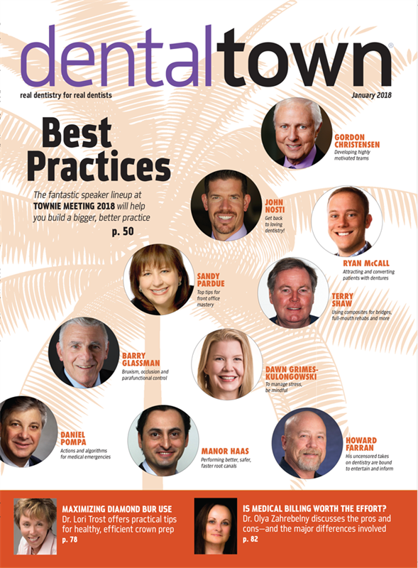 Dentaltown Magazine January 2018