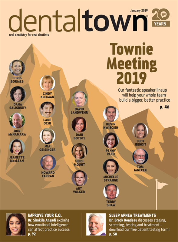 Dentaltown Magazine January 2019