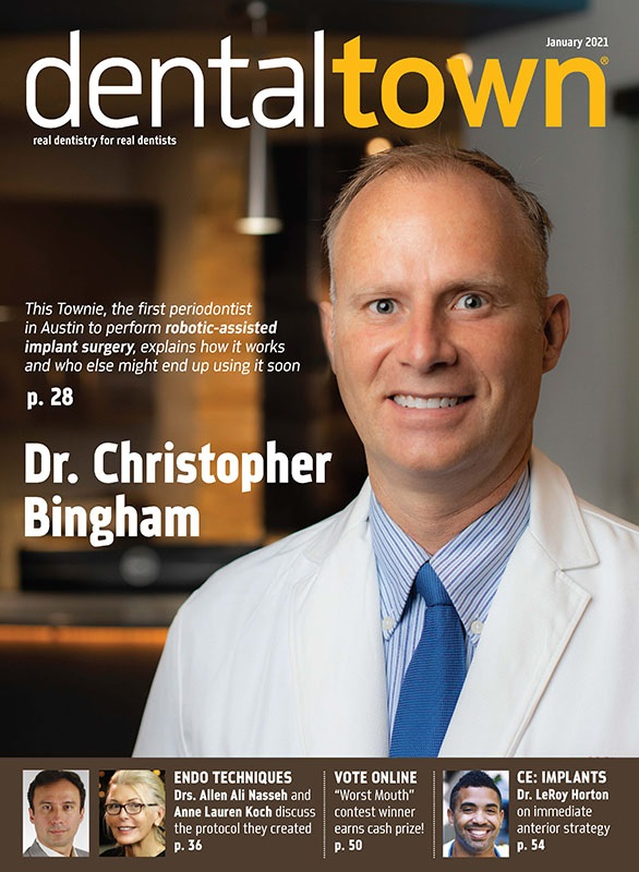 Dentaltown Magazine January 2021