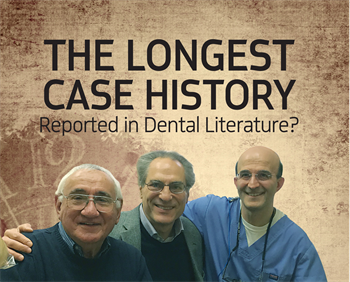 The Longest Case History Reported in Dental Literature? A case study that examines how a vital pulpotomy using calcium hydroxide paste has held up over seven decades.