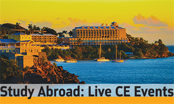 Study Abroad: Live CE Events Each month, Dentaltown magazine will publish some of Composite CE's picks for the most intriguing and appealing live dental courses.