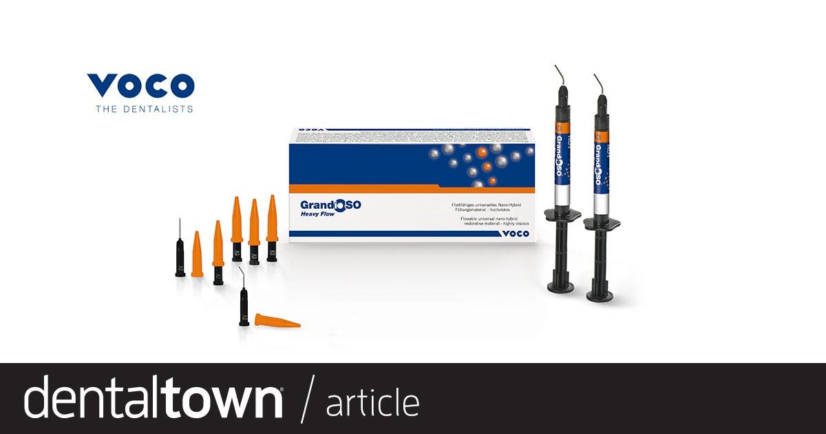 Product Profile: GrandioSO Heavy Flow A composite that flows