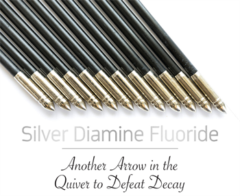 CE: Silver Diamine Fluoride: Another Arrow in the Quiver to Defeat Decay by Judy Bendit and Patti DiGangi  Judy Bendit and Patti DiGangi examine the indications for silver diamine fluoride for use against caries and share case studies that demonstrate this medicament in action.