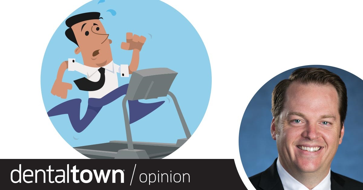 Professional Courtesy: The Technology Treadmill Dr. Thomas Giacobbi, Dentaltown's editorial director, shares insight into why adopting technology in dentistry can be difficult and offers some suggestions for the future.