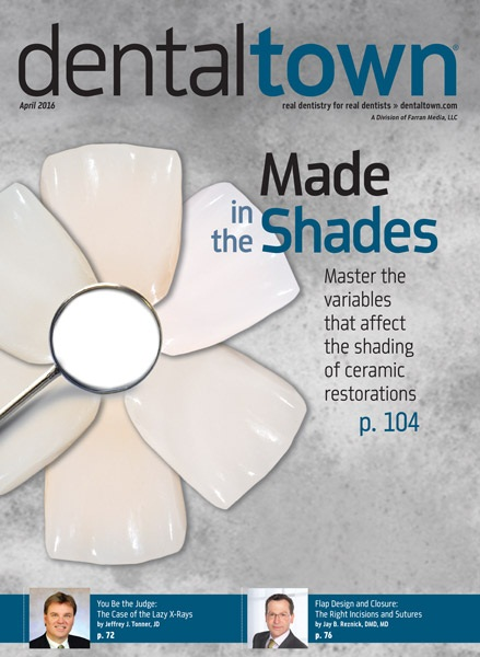 Dentaltown Magazine April 2016