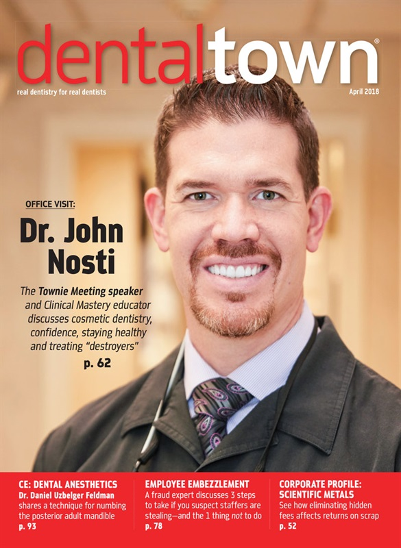 Dentaltown Magazine April 2018