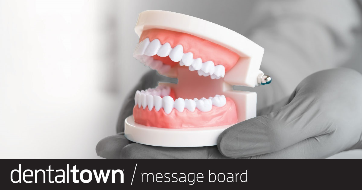 "Getting the 'Loose' Out of Loose  Prosthodontics ""Velogeek,"" one of Dentaltown's most esteemed posters (and a Townie 2019 speaker), shares a wealth of information on fabricating well-fitting dentures."