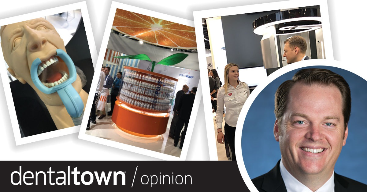 Professional Courtesy: An Early IDS Roundup Dr. Thomas Giacobbi, Dentaltown's editorial director, shares glimpses at some of the products he saw on the first day of the International Dental Show in Cologne, Germany.