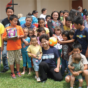 DO GOOD: Paying it Forward In an effort to repay the community that helped her as a refugee years before, Dr. Emily Letran founded her own nonprofit, charitable organization.