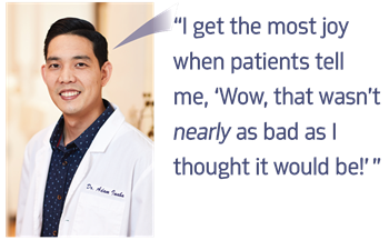 Office Visit: Dr. Adam Inaba We tour the Honolulu practice of Townie Dr. Adam Inaba, a third-generation endodontist who discusses his family's history and the specialty's future—including the latest trends he's seeing in implants and imaging.