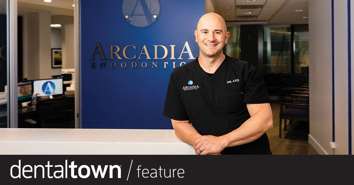Office Visit: Dr. Kevin Axx Dentaltown takes you inside the practice of Dr. Kevin Axx,  a Phoenix-area endodontist who discusses what it takes to build and open your own practice and what he sees for the future of the specialty.