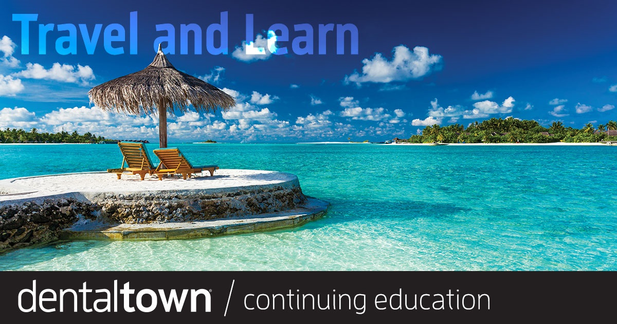 Live CE Events: Travel and Learn Each month, Dentaltown magazine will publish some of Composite CE's picks for the most intriguing and appealing live dental courses.