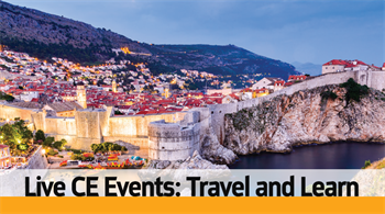 Travel and Learn:  Live CE Events