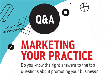 Q&A: Marketing Your Practice Joy Gendusa, founder and CEO of PostcardMania, answers the top four questions she hears from dentists about how to market their practices.