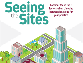 Seeing the Sites Scott McDonald of Dental Demographics discusses national trends and the best regions in the country to open a practice right now.