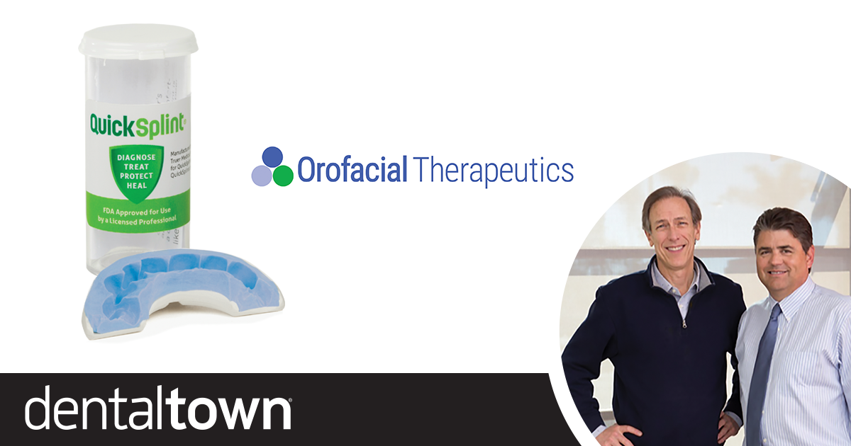 You Should Know: Orofacial Therapeutics At Dentaltown, we're lucky to meet many people who do great things in the name of dentistry, and our recurring You Should Know feature introduces them to our readers. For this installment, we spoke to Drs.?James Fricton and Brad Eli of Orofacial Therapeutics.