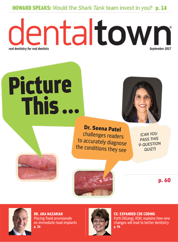 Dentaltown Magazine September 2017