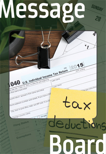 Tax Savings as a Practice Owner  Potential owners want to know what to expect when it comes to taxes and write-offs.