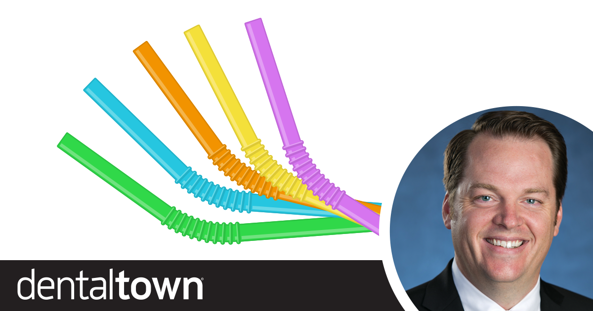 Professional Courtesy: Dentists Love Disposables Dr. Thomas Giacobbi, Dentaltown's editorial director, talks about the recent stigma surrounding plastic straws and what it could mean for dentistry.