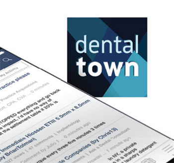 On Dentaltown.com Visit dentaltown.com for an ongoing conversation about everything from tough cases to staff issues to who's going to win the World Series this year. Join the discussion!